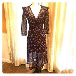 ❤️ NWT EXPRESS Two Piece Midi Dress Size XS